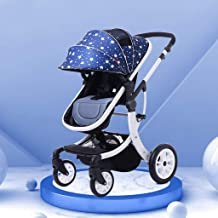Cochecito de bebé Función de rotación 360, Cochecito de bebé Cochecito de bebé Hot Mom, Sistema de Viaje Asiento para bebé (Color: Star)