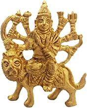 Divya Mantra Sri Hindu Goddess Durga Maa Idol Sculpture Statue Murti- Puja/Pooja Room, Meditation, Prayer, Office, Temple,...