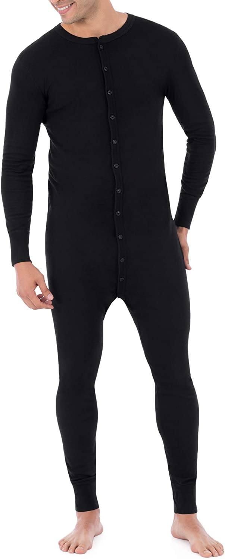 Fruit of the Loom Mens Premium Thermal Union Suit