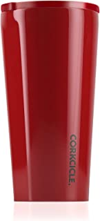Corkcicle Tumbler - Dipped Collection - Triple Insulated Stainless Steel Travel Mug, Dipped Cherry Bomb, 16 oz
