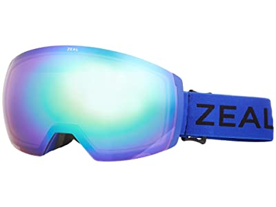 Zeal Optics Portal XL (Cobalt w/ Jade Mirror + Persimmon Sky Blue Lens) Goggles
