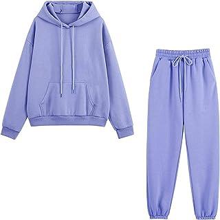 DAY8 Ensemble Jogging Femme Hiver Peluche Grande Taille Chaud Survêtement Sportswear Femme Ensembles 2 Pièce Pantalon Et S...