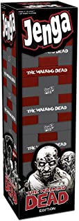 USAOPOLY Jenga: The Walking Dead Game