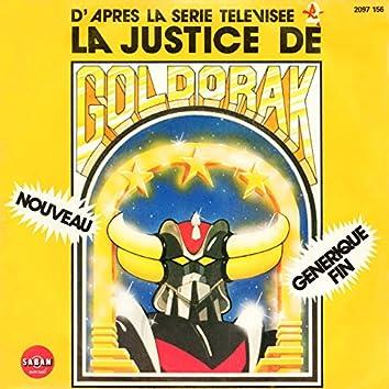 La justice de Goldorak (Générique original de fin du dessin animé) - Single