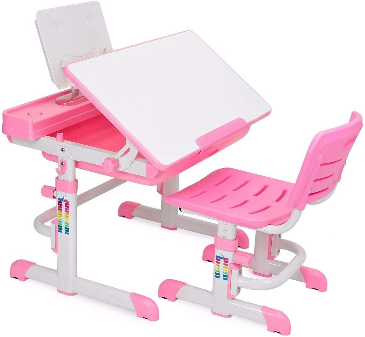 Barton Kids Desk Interactive Work Adjustable Lea Charlotte NEW before selling Mall Station Height