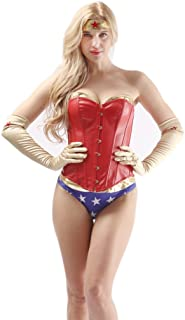 Alivila.Y Fashion Corset Women's Sexy Cosplay Halloween Corset Costume Set