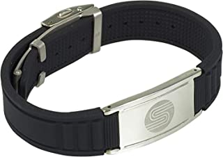 SATORI 4 in 1 Negative Ion Band,  Germanium,  Silicone, Charged with Negative Ions,  The Ionic & Stylish Therapy Bracelet Unique Gift