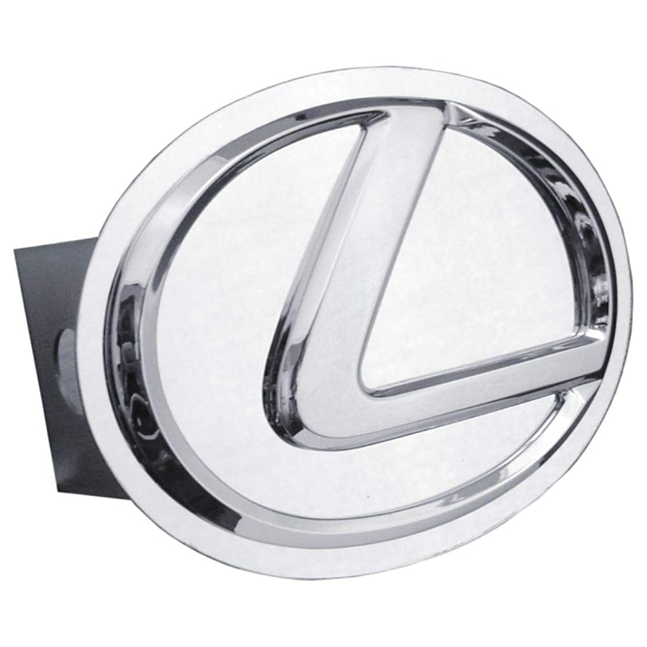 Lexus 3D Chrome Logo Metal Tow Hitch Cover, Official Licensed