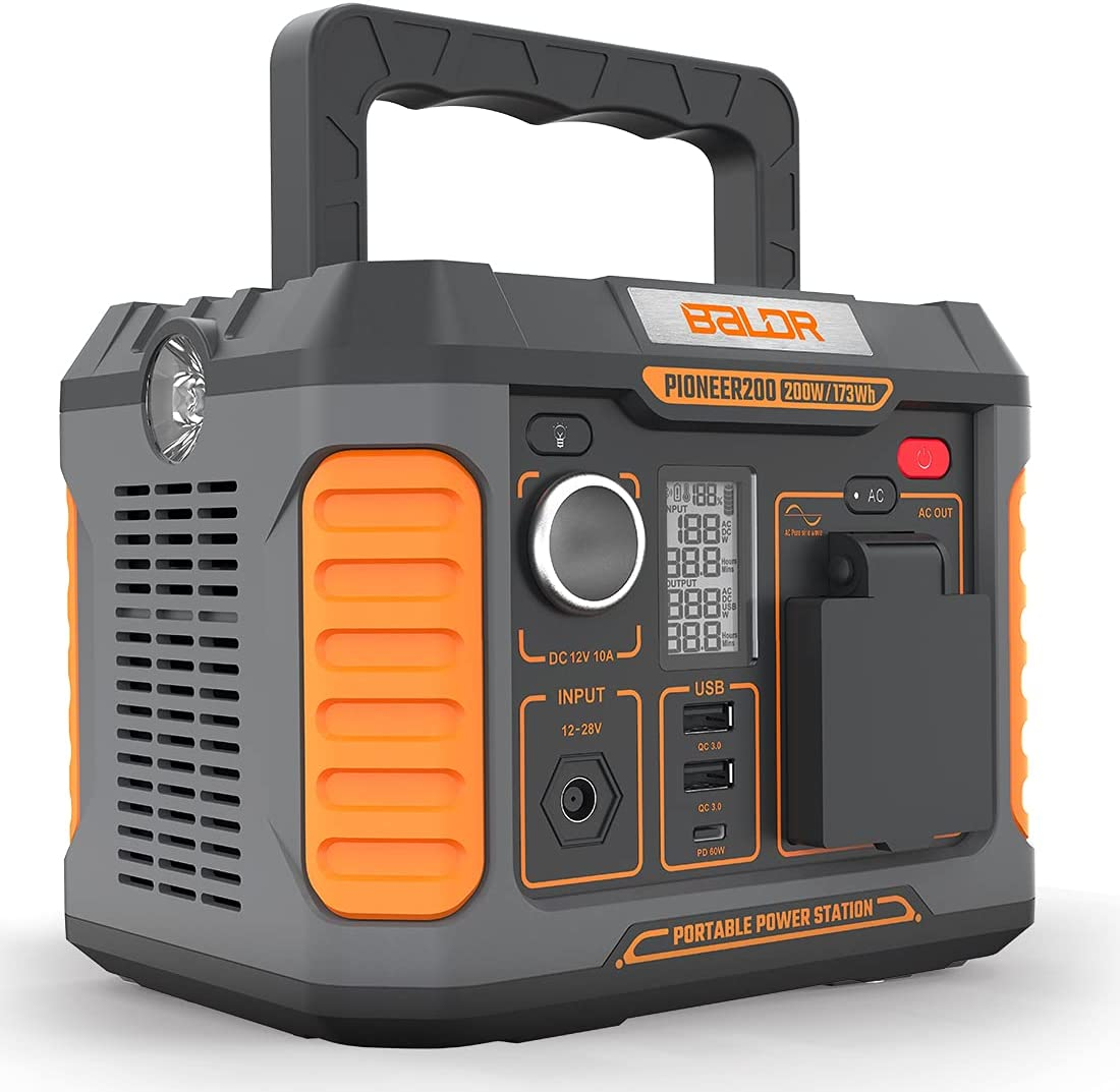 BALDR 173Wh  200W Portable Power Station $124.99 Coupon