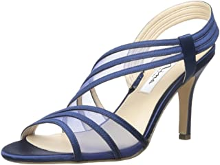 a989d4d6f4371 Amazon.com: Blue - Heeled Sandals / Sandals: Clothing, Shoes & Jewelry