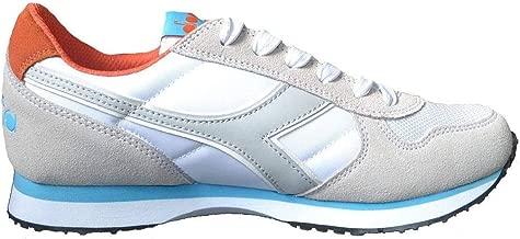 Diadora Scarpe Sneaker UomoDonna Modello K Run II Vari Colori (White CyanBlue Fluo 37)