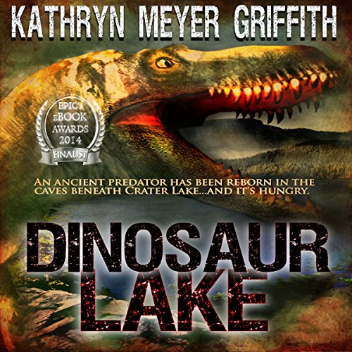Dinosaur Lake audiobook cover art