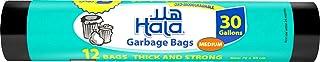 Hala Trash Bags , 30 Gallons, 12 Bags