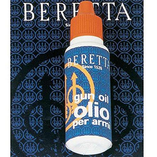 Beretta - Olio per pistola, 25 ml Dai alle tue pistole il massimo livello di protezione contro la corrosione con l'olio originale Beretta appositamente formulato in entrambe le bottiglie. La nostra azione idrorepellente pulisce e stagiona la superfic...
