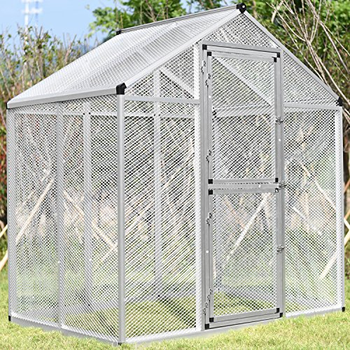 Bestmart INC Large Aluminum Bird Cage Walk In Aviary