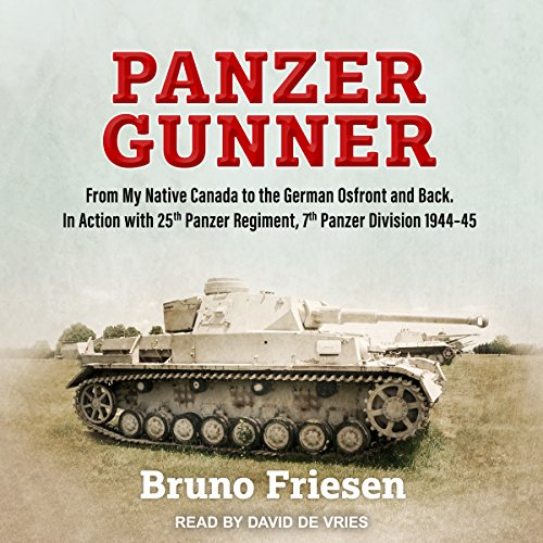 Panzer Gunner audiobook cover art