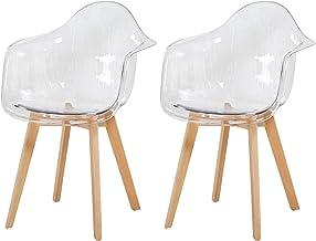 : chaise transparente