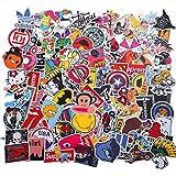 EKKONG 100 Pezzi Kit Adesivi, Vsco Stickers Tumblr Vinyl Kawaii Decals per Bambini Adolescenti, Adulti, Laptop, Auto, Moto, Biciclette, Skateboard, Valigia