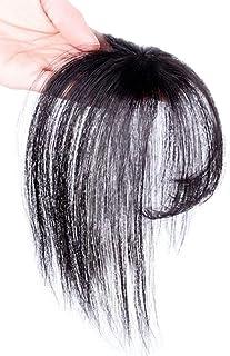 Tixiyu 3D Air Pony, Clip in Fringe Hair Piece Menselijk Haar, Haartopper Extension Onzichtbare Naadloze Dunne Nette Air Po...