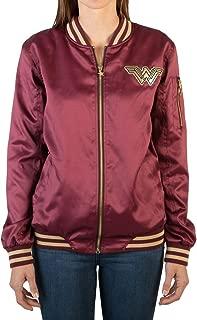 Wonder Woman Women's Logo Bomber Jacket