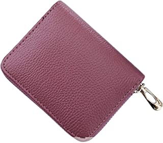 XIAOGINGV Womens PU Leather Cerniera Portafoglio Piccolo Cambio della Cassa del Raccoglitore della Carta di Credito Portat...