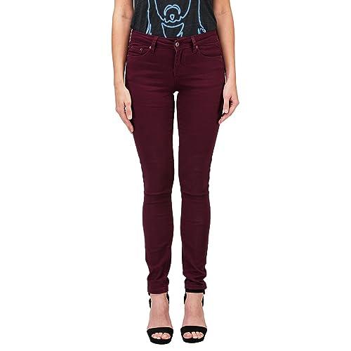 47334056824 Clingers Women s Black Denim Stretch Skinny Pants
