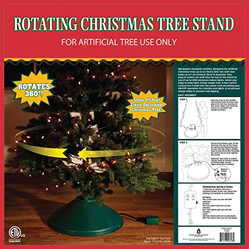 360 Degree Rotating Christmas Tree Stand (VA982)