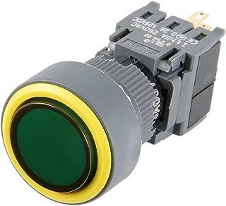 apagado Interruptor basculante redondo AC 250V 15A 20A Aexit 5 Pcs 2 Pin SPST Bot/ón rojo Encendido 125V model: B5202IXII-4284CG