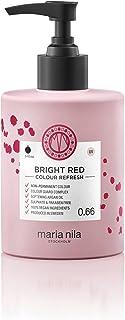 Maria Nila Colour Refresh Bright Red 300 ml - En Vårdande Färgbomb som Innehåller Tillfälliga Färgpigment som Snabbt Fräsc...