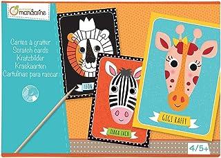 Black//White Avenue Mandarine Graffy Fairies Theme Colour Your Own Finger Puppets 16.0 x 10.0 x 1.0 cm