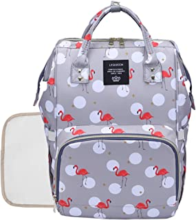 Diaper Backpack Baby Nappy Bag - Travel&Outdoor Organizer Multi-Function Maternity Bag for Mon Daddy