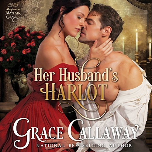 Her Husband's Harlot audiobook cover art