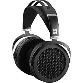 HIFIMAN SUNDARA Over-ear Full-size Planar Magnetic Headphones with High Fidelity Design Easy to Drive by iPhone /Android Comfortable Headband Open-Back Design Easy Cable Swapping Black
