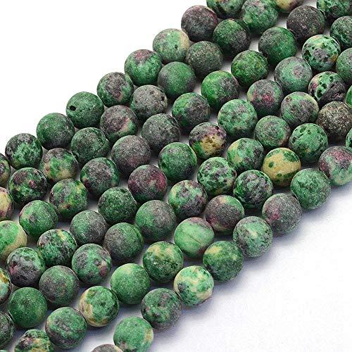 Piedras preciosas de ágata de piedras preciosas, selección de colores, 8 mm, diseño de joyas,...