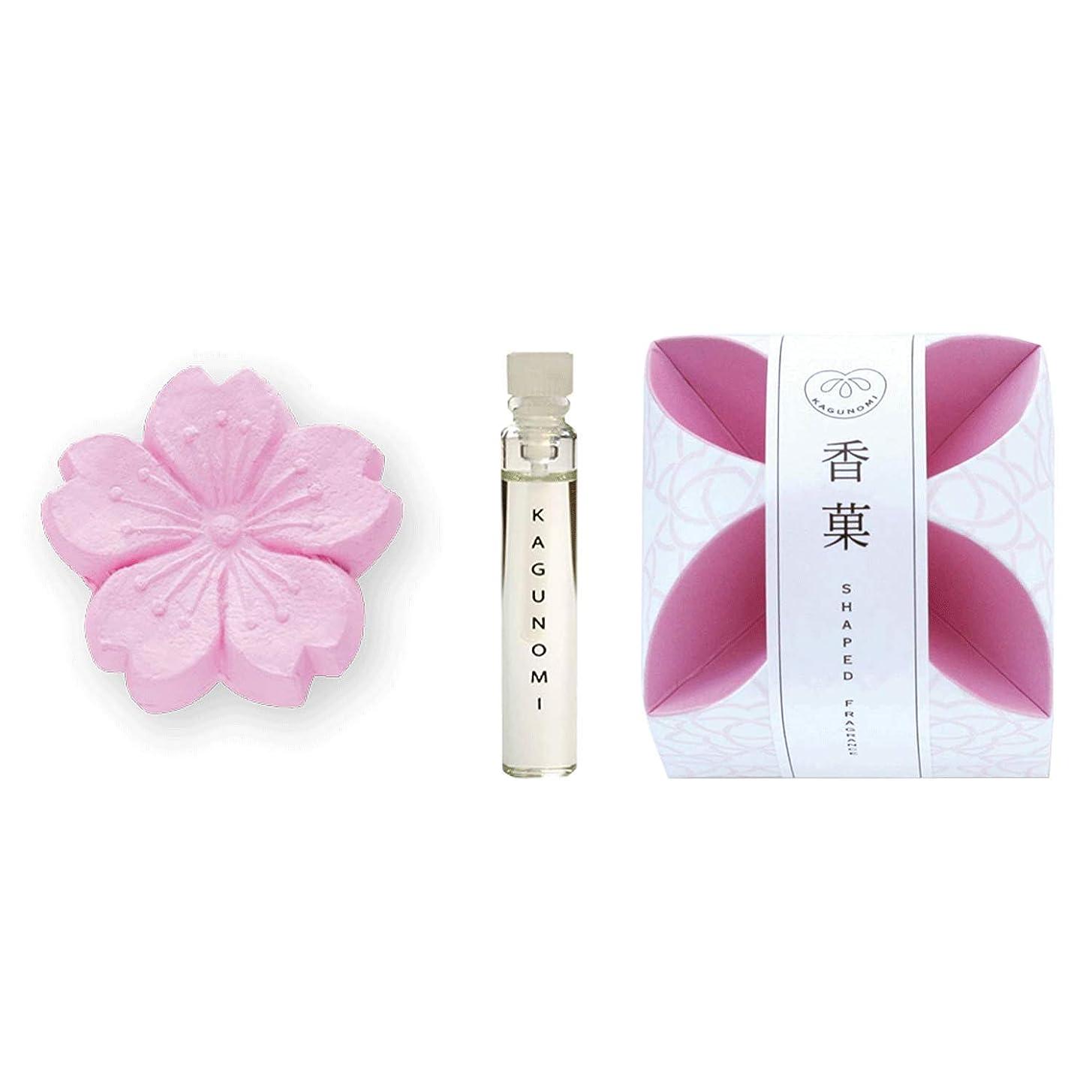 切り離す動員する起こりやすい香菓 さくら形(桜色) 1入 オイル1.8mm付