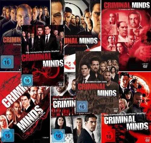 Criminal Minds - Die komplette 1. - 8. Staffel (46-Disc | 8-Boxen)