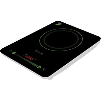 Eco4us - Induction Cooktop with 10 Temperature Levels and Digital Touch Controls. Induction Cookware Required