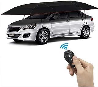 Portable Car Umbrella by Prosmart   Water Resistant Car Umbrella   Windproof Car Umbrella   Car Umbrella Tent   Big Size Car Umbrella   Car Umbrella Cover (Black)