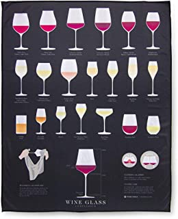 Wine Folly - Extra Large Wine Glass Polishing Cloth (22