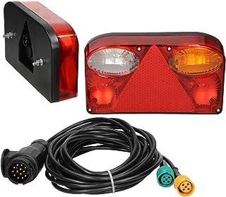 per fanale posteriore sinistro S6 2007-2008 Copertura per fanale posteriore a LED per fanali posteriori A-U-D-I A6 2006-2008 Artudatech