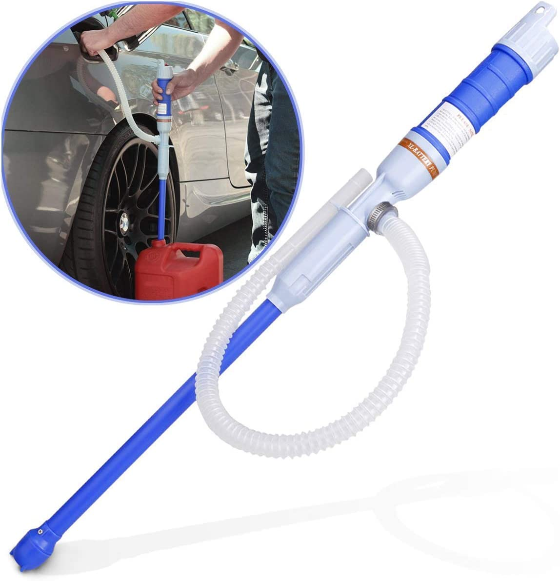 Noeler Battery famous unisex Operated Liquid Transfer for Pump Fue Siphon
