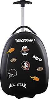 Mojo Licensing Unisex-Adult NCAA Texas A&M Aggies Kids Lil' Adventurer Luggage Pod CLTAL601_Black-P, NCAA Florida State Seminoles Kids Lil' Adventurer Luggage Pod, Black, CLFSL601_Black, Black, 4.8