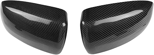 Carbon Fiber Rearview Mirror Cover Housing Caps, Keenso Door Side Mirror Shell Housing Caps For Bmw X5 E70 X6 E71