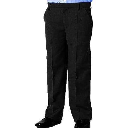Off The High Street Boys Generous Fit Slim Leg Sturdy Plus Fit School Trousers