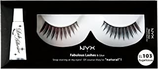 NYX Professional Makeup Fabulous Eye Lashes, Sugarlicious, 0.544 Ounce