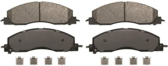 مجموعه پد دیسک نیمه فلزی واگنر Sever Duty SX1399 شامل سخت افزار نصب ، جلو