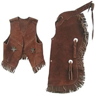 childrens western vest