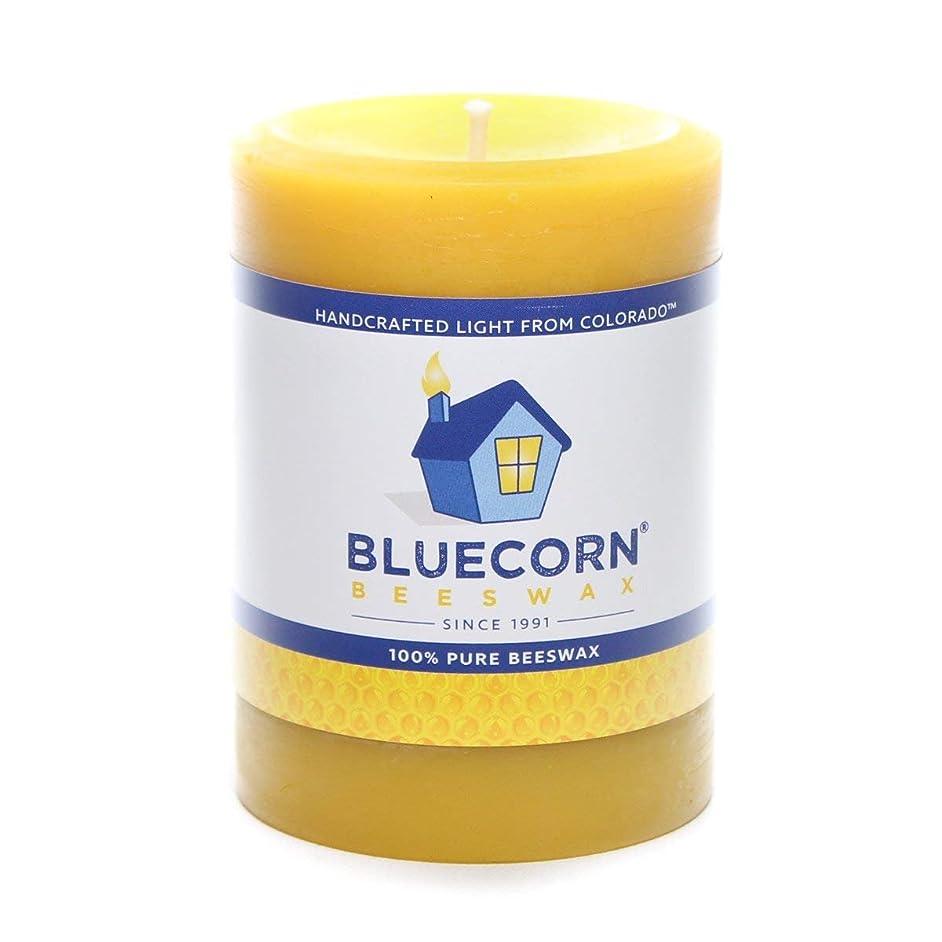 Bluecorn Beeswax 100% Pure Raw Beeswax Pillar: 3