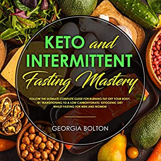 Keto and Intermittent Fasting Mastery audiobook cover art
