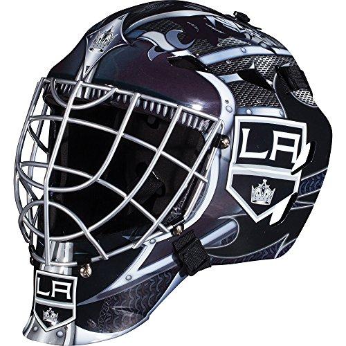 Franklin Sports Los Angeles Kings NHL Hockey Goalie Face Mask - Goalie Mask for Kids Street Hockey - Youth NHL Team Street Hockey Masks